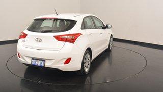 2017 Hyundai i30 GD4 Series II M Active Polar White 6 Speed Sports Automatic Hatchback