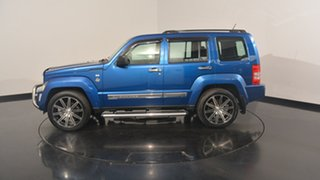 2010 Jeep Cherokee KK MY10 Sport Blue 4 Speed Automatic Wagon.