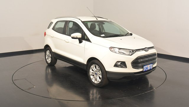 Used Ford Ecosport BK Titanium PwrShift, 2016 Ford Ecosport BK Titanium PwrShift White 6 Speed Sports Automatic Dual Clutch Wagon