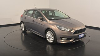 2015 Ford Focus LZ Sport Lunar Sky 6 Speed Automatic Hatchback.
