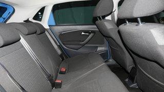 2014 Volkswagen Polo 6R MY15 81TSI DSG Comfortline Cornflower Blue 7 Speed