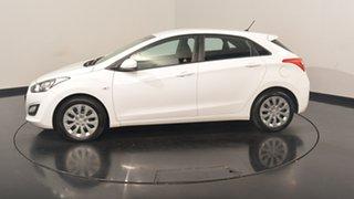 2017 Hyundai i30 GD4 Series II M Active Polar White 6 Speed Sports Automatic Hatchback.