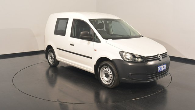 Used Volkswagen Caddy 2KN MY14 TDI250 SWB DSG, 2014 Volkswagen Caddy 2KN MY14 TDI250 SWB DSG White 7 Speed Sports Automatic Dual Clutch Van