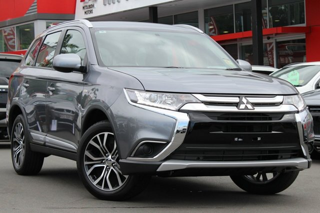 New Mitsubishi Outlander ZL MY18.5 ES 2WD, 2018 Mitsubishi Outlander ZL MY18.5 ES 2WD Titanium 6 Speed Constant Variable Wagon
