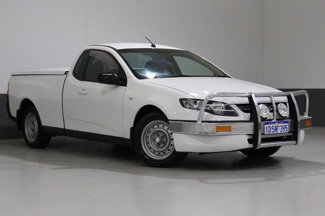 Used Ford Falcon FG MK2 (LPi), 2011 Ford Falcon FG MK2 (LPi) White 6 Speed Automatic Utility