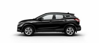 2017 Nissan Qashqai J11 Series 2 ST X-tronic Pearl Black 1 Speed Constant Variable Wagon