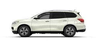 2017 Nissan Pathfinder R52 Series II MY17 ST-L X-tronic 2WD Ivory Pearl 1 Speed Constant Variable