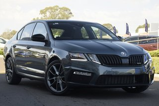 2019 Skoda Octavia NE MY19 RS Sedan DSG 180TSI Grey 7 Speed Sports Automatic Dual Clutch Liftback.