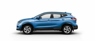 2017 Nissan Qashqai J11 Series 2 ST X-tronic Vivid Blue 1 Speed Constant Variable Wagon