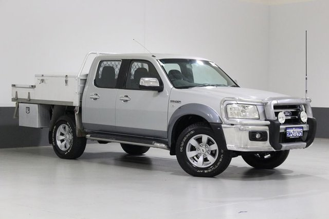 Used Ford Ranger PJ XLT (4x4), 2008 Ford Ranger PJ XLT (4x4) Silver 5 Speed Manual Dual Cab Pick-up
