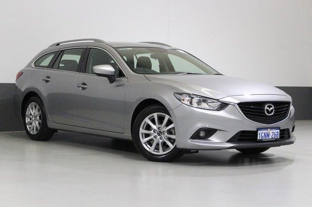 Used Mazda 6 6C Sport, 2014 Mazda 6 6C Sport Aluminium 6 Speed Automatic Wagon