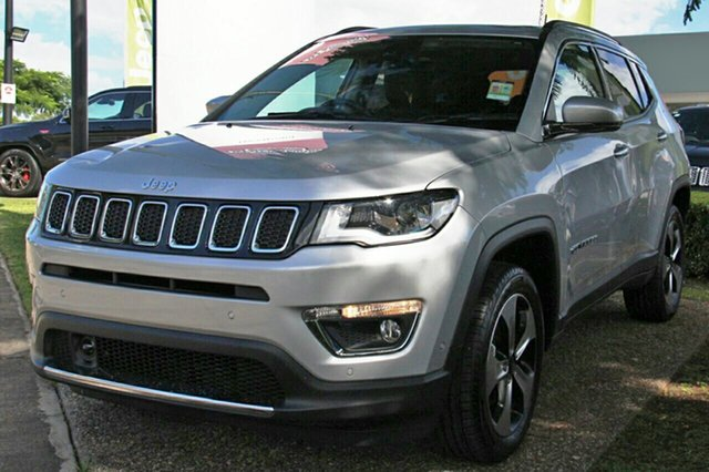 New Jeep Compass M6 MY18 Limited, 2018 Jeep Compass M6 MY18 Limited Minimal Grey 9 Speed Automatic Wagon