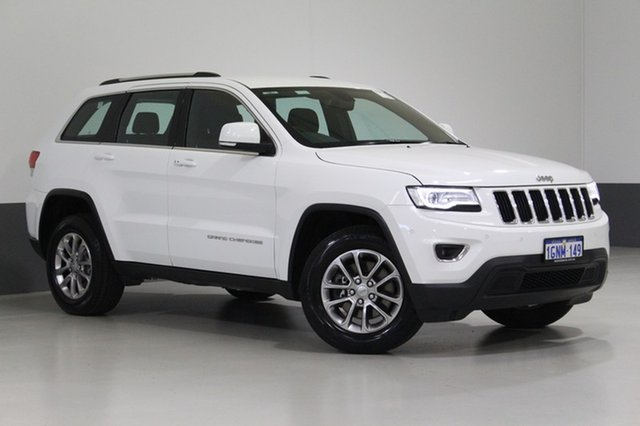 Used Jeep Grand Cherokee WK MY15 Laredo (4x2), 2016 Jeep Grand Cherokee WK MY15 Laredo (4x2) White 8 Speed Automatic Wagon