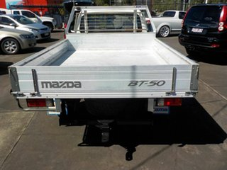 2008 Mazda BT-50 08 Upgrade B3000 DX (4x4) White 5 Speed Manual Dual Cab Chassis