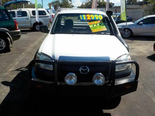 2008 Mazda BT-50 08 Upgrade B3000 DX (4x4) White 5 Speed Manual Dual Cab Chassis.