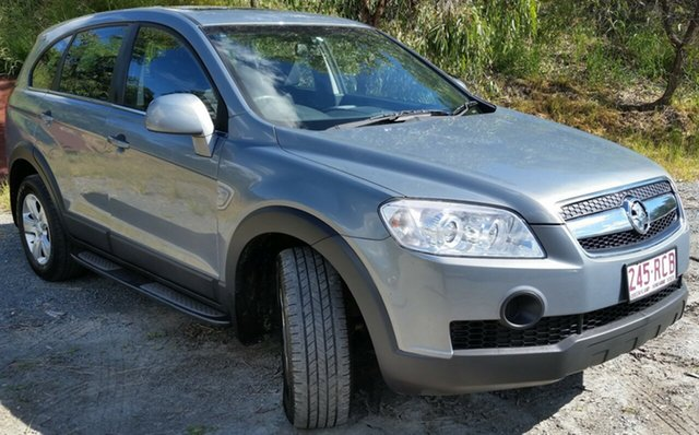 Used Holden Captiva CG MY10 SX, 2010 Holden Captiva CG MY10 SX 5 Speed Sports Automatic Wagon