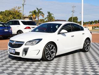 2016 Holden Insignia GA MY16 VXR AWD White 6 Speed Sports Automatic Sedan.