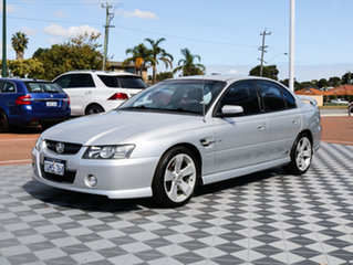 2005 Holden Commodore VZ SS Z Silver 6 Speed Manual Sedan.