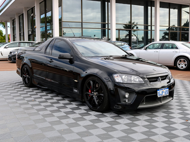 Used Holden Special Vehicles Maloo E Series R8, 2007 Holden Special Vehicles Maloo E Series R8 Black 6 Speed Manual Utility
