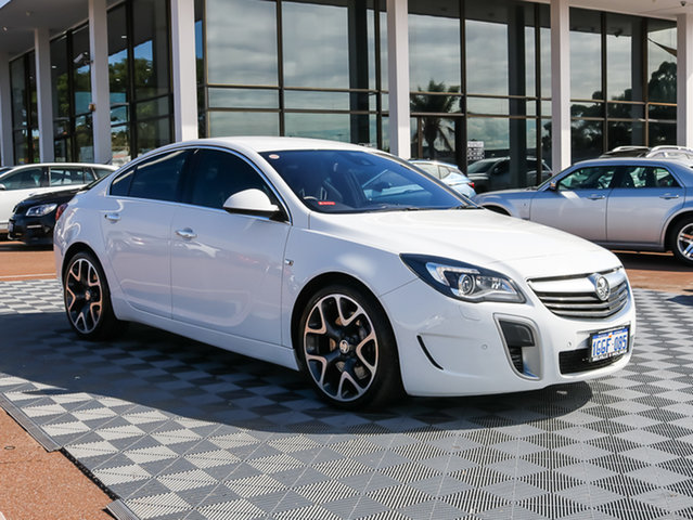Used Holden Insignia GA MY16 VXR AWD, 2016 Holden Insignia GA MY16 VXR AWD White 6 Speed Sports Automatic Sedan