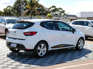 2014 Renault Clio IV B98 Expression EDC White 6 Speed Sports Automatic Dual Clutch Hatchback