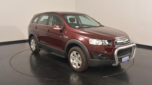 Used Holden Captiva CG MY13 7 SX, 2013 Holden Captiva CG MY13 7 SX Red 6 Speed Sports Automatic Wagon