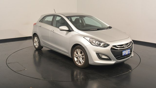 Used Hyundai i30 GD Elite, 2013 Hyundai i30 GD Elite Silver 6 Speed Sports Automatic Hatchback