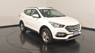 2017 Hyundai Santa Fe DM3 MY17 Active White Crystal 6 Speed Sports Automatic Wagon