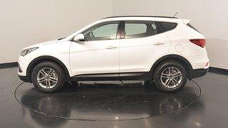 2017 Hyundai Santa Fe DM3 MY17 Active White Crystal 6 Speed Sports Automatic Wagon.