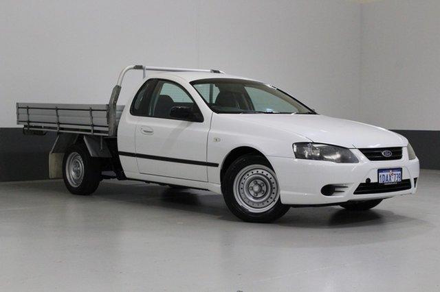 Used Ford Falcon BF MkII XL (LPG), 2008 Ford Falcon BF MkII XL (LPG) White 4 Speed Auto Seq Sportshift Cab Chassis
