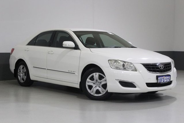 Used Toyota Aurion GSV40R AT-X, 2007 Toyota Aurion GSV40R AT-X White 6 Speed Auto Sequential Sedan