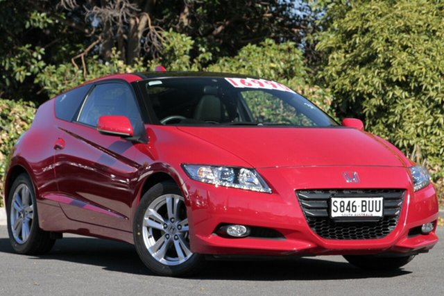 Used Honda CRZ ZF MY12 Luxury, 2012 Honda CRZ ZF MY12 Luxury Milano Red 7 Speed Constant Variable Coupe Hybrid
