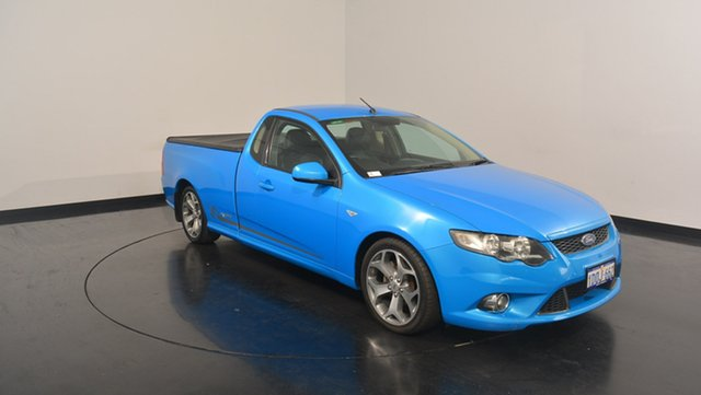 Used Ford Falcon FG XR6 Ute Super Cab 50th Anniversary, 2010 Ford Falcon FG XR6 Ute Super Cab 50th Anniversary Blue 6 Speed Sports Automatic Utility