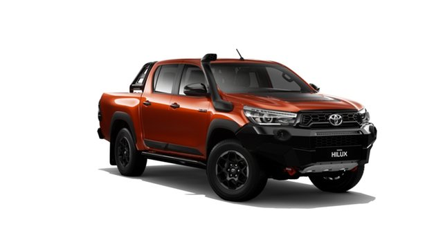 New Toyota Hilux GUN126R Rugged X Double Cab, 2019 Toyota Hilux GUN126R Rugged X Double Cab Inferno 6 Speed Sports Automatic Utility