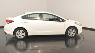 2017 Kia Cerato YD MY17 S Clear White 6 Speed Sports Automatic Hatchback