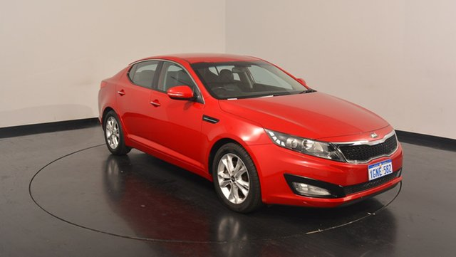 Used Kia Optima TF MY13 SI, 2013 Kia Optima TF MY13 SI Temptation Red 6 Speed Sports Automatic Sedan