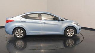 2012 Hyundai Elantra MD Active Blue 6 Speed Manual Sedan