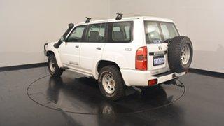 2012 Nissan Patrol Y61 GU 8 ST White 5 Speed Manual Wagon.