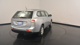 2012 Mitsubishi Outlander ZJ MY13 ES 4WD Cool Silver 6 Speed Constant Variable Wagon