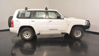 2012 Nissan Patrol Y61 GU 8 ST White 5 Speed Manual Wagon