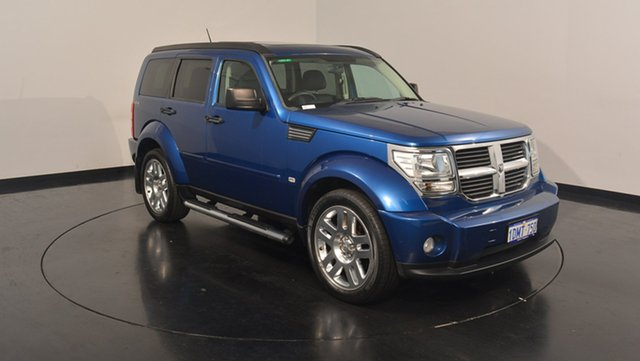 Used Dodge Nitro KA MY09 SXT, 2010 Dodge Nitro KA MY09 SXT Blue 4 Speed Automatic Wagon