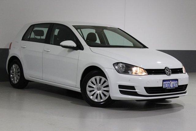 Used Volkswagen Golf AU MY14.5 90 TSI, 2014 Volkswagen Golf AU MY14.5 90 TSI White 7 Speed Auto Direct Shift Hatchback