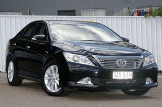 2012 Toyota Aurion GSV50R Presara Black 6 Speed Sports Automatic Sedan.