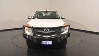2014 Mazda BT-50 UP0YF1 GT White 6 Speed Manual Utility