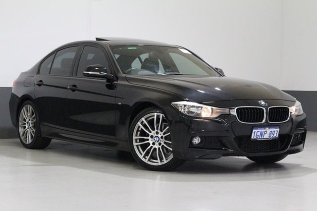 Used BMW 316I F30 MY14 , 2013 BMW 316I F30 MY14 Black 8 Speed Automatic Sedan