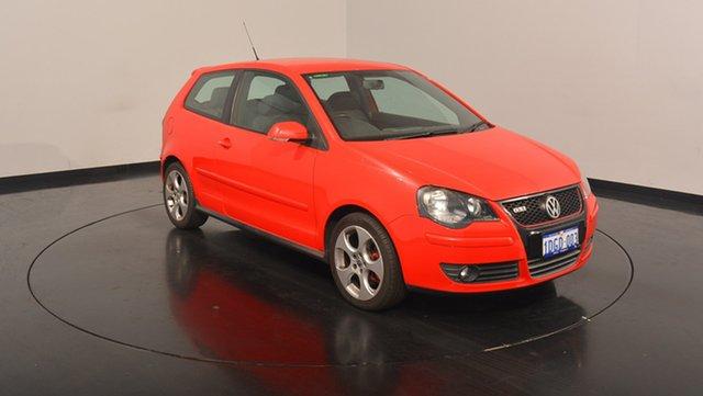 Used Volkswagen Polo 9N MY2009 GTi, 2009 Volkswagen Polo 9N MY2009 GTi Flash Red 5 Speed Manual Hatchback