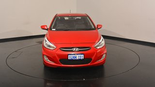 2017 Hyundai Accent RB4 MY17 SR Red 6 Speed Sports Automatic Hatchback