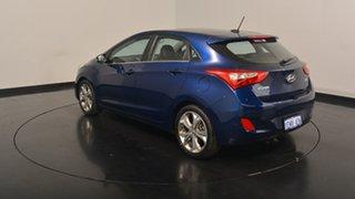 2013 Hyundai i30 GD MY14 Premium Blue 6 Speed Sports Automatic Hatchback.