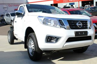 2017 Nissan Navara D23 S3 RX 4x2 Polar White 6 Speed Manual Cab Chassis.