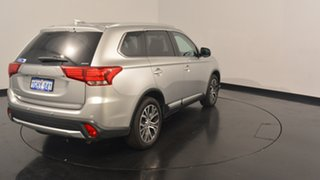 2017 Mitsubishi Outlander ZK MY17 LS 4WD Sterling Silver 6 Speed Constant Variable Wagon